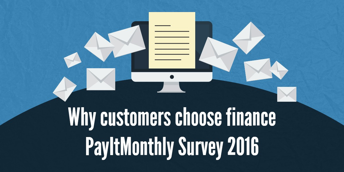 customers choose finance