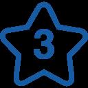 star-number-3