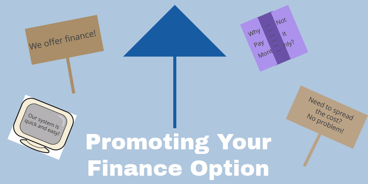 Promote Your Finance Option